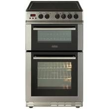 Belling FS50EDOPC 50cm Double Oven Electric Cooker - S/Steel Best Price, Cheapest Prices