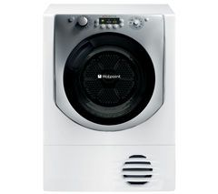 HOTPOINT Aqualtis AQC9 BF7E1 Condenser Tumble Dryer - White Best Price, Cheapest Prices