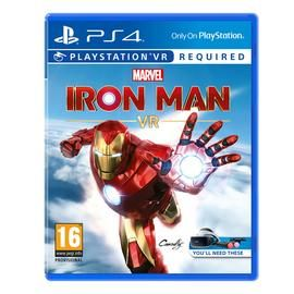 Marvel's Iron Man VR Pre-Order Game (PS4) Best Price, Cheapest Prices