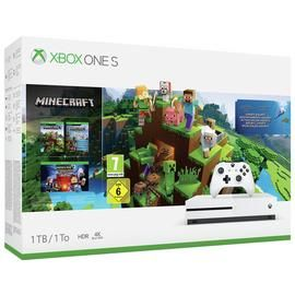 Xbox One S 1TB Console & Minecraft Bundle Best Price, Cheapest Prices
