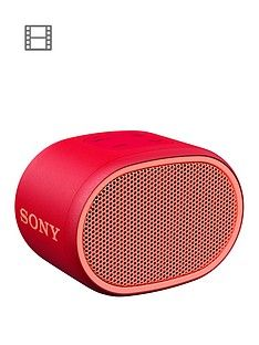 Sony SRS-XB01 Portable Bluetooth Speaker - Red Best Price, Cheapest Prices