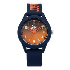 Hype Children's Navy Silicone Strap Watch Best Price, Cheapest Prices