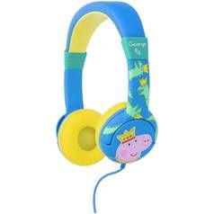 Peppa Pig Prince George Junior On-Ear Headphones - Blue Best Price, Cheapest Prices