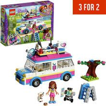 LEGO Friends Heartlake Olivia's Mission Vehicle Toy - 41333 Best Price, Cheapest Prices