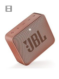 JBL GO 2 Wireless Bluetooth Speaker with IPX7 Water-Resistant Rating, 5 Hours Playtime and Call Handling - Cinnamon Best Price, Cheapest Prices