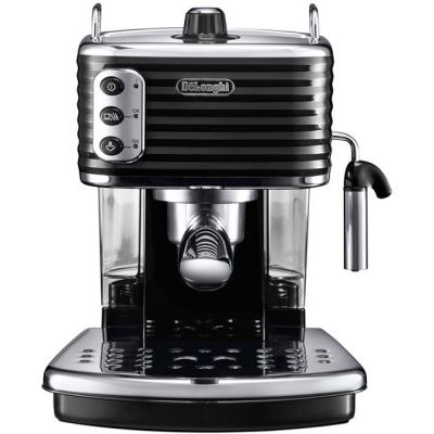 De'Longhi Scultura ECZ351.BK Espresso Coffee Machine - Black Best Price, Cheapest Prices