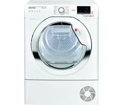 HOOVER Dynamic Next DX HY10A2TKE Smart 10 kg Heat Pump Tumble Dryer - White with Tinted Door Best Price, Cheapest Prices