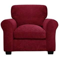 Argos Home Tammy Fabric Armchair - Wine Best Price, Cheapest Prices