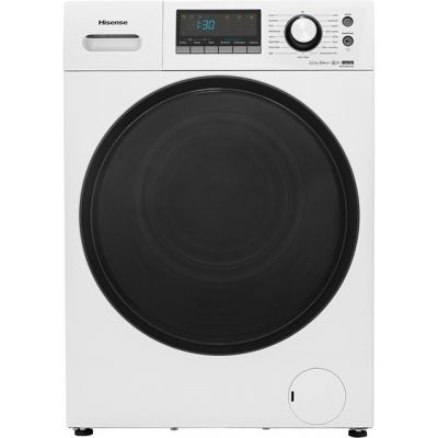 Hisense WFEH9014VA 9Kg Washing Machine with 1400 rpm - White - A+++ Rated Best Price, Cheapest Prices
