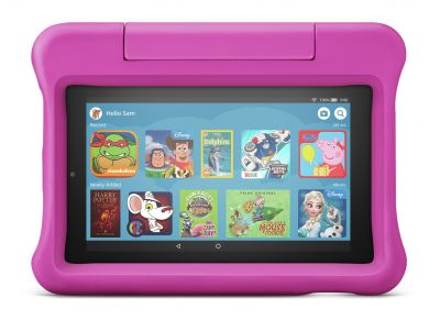 Amazon Fire 7 Kids Edition 7 Inch 16GB Tablet - Pink Best Price, Cheapest Prices