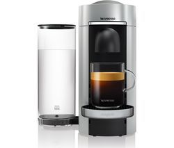 NESPRESSO by Magimix Vertuo Plus M600 Coffee Machine - Silver Best Price, Cheapest Prices