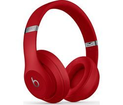 BEATS Studio 3 Wireless Bluetooth Noise-Cancelling Headphones - Red Best Price, Cheapest Prices