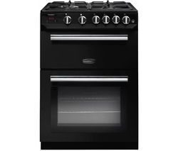 RANGEMASTER Professional 60 Gas Cooker - Black Best Price, Cheapest Prices