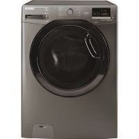 GRADE A2 - Hoover DXOC69AFN3R Dynamic Next 9kg 1600rpm Freestanding Washing Machine With One Touch And 14 Minute Wash - Graphite With Chrome Door Best Price, Cheapest Prices