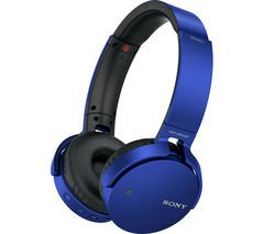 SONY MDR-XB650BTL EXTRA BASS Wireless Bluetooth Headphones - Blue Best Price, Cheapest Prices