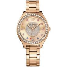 Juicy Couture Ladies' Sierra Rose Gold Plated Bracelet Watch Best Price, Cheapest Prices
