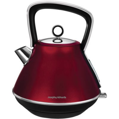 Morphy Richards Evoke 100108 Kettle - Red Best Price, Cheapest Prices