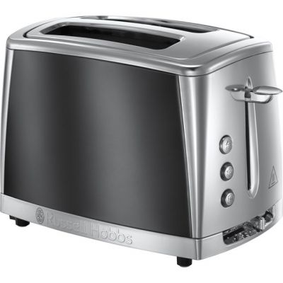 Russell Hobbs Luna 23221 2 Slice Toaster - Grey Best Price, Cheapest Prices