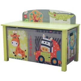 Liberty House Safari Large Toy Box Best Price, Cheapest Prices