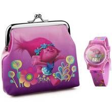 Trolls Watch and Purse Set Best Price, Cheapest Prices