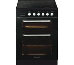 BAUMATIC BCE625BL Electric Ceramic Cooker - Black Best Price, Cheapest Prices