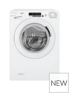 Candy Grand'O Vita GVS148DC3 8kg Wash, 1400 Spin Washing Machine with Smart Touch - White Best Price, Cheapest Prices