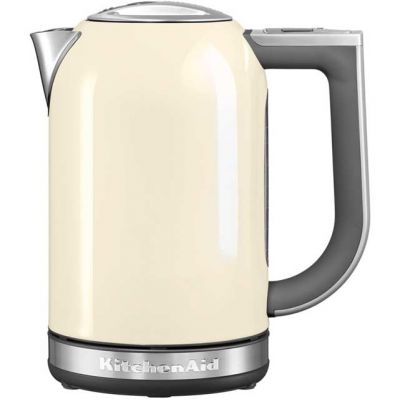 KitchenAid 5KEK1722BAC Kettle with Temperature Selector - Almond Cream Best Price, Cheapest Prices