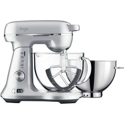 Sage The Bakery Boss BEM825BAL Stand Mixer with 4.7 Litre Bowl - Silver Best Price, Cheapest Prices