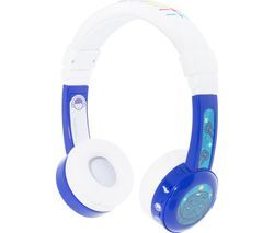 ONANDOFF BuddyPhone InFlight Kids Headphones - Blue Best Price, Cheapest Prices