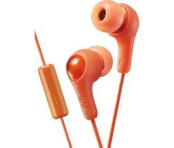 JVC HA-FX7M Gumy Plus Headphones – Orange Best Price, Cheapest Prices