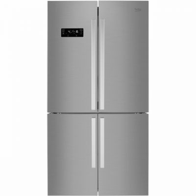 Beko MN1416224PX American Fridge Freezer - Brushed Steel - A+ Rated Best Price, Cheapest Prices