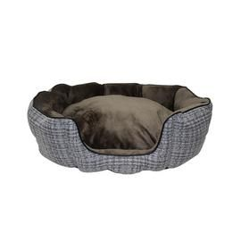 Argos Home Woven High Sided Pet Bed - Large Best Price, Cheapest Prices