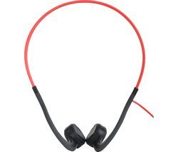 AFTERSHOKZ Sportz Titanium Noise-Cancelling Headphones - Red Best Price, Cheapest Prices