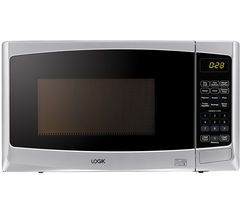 LOGIK L20MS14 Solo Microwave - Silver Best Price, Cheapest Prices