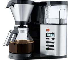 MELITTA AromaElegance Deluxe Filter Coffee Machine - Black & Stainless Steel Best Price, Cheapest Prices