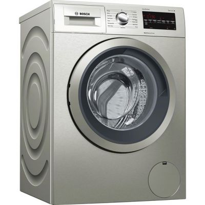 Bosch Serie 6 WAT2840SGB 9Kg Washing Machine with 1400 rpm - Silver - A+++ Rated Best Price, Cheapest Prices