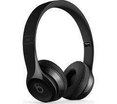 BEATS Solo 3 Wireless Bluetooth Headphones - Gloss Black Best Price, Cheapest Prices