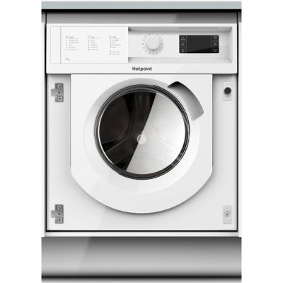 Hotpoint BIWMHG71284 Integrated 7Kg Washing Machine with 1200 rpm - A+++ Rated Best Price, Cheapest Prices