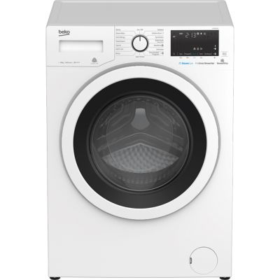 Beko WY86042W 8Kg Washing Machine with 1600 rpm - White - A+++ Rated Best Price, Cheapest Prices