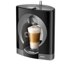 KRUPS Dolce Gusto Oblo KP110840 Hot Drinks Machine - Black Best Price, Cheapest Prices