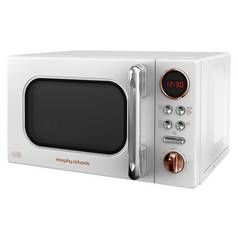 Morphy Richards Evo 800W Standard Microwave 511504 - White