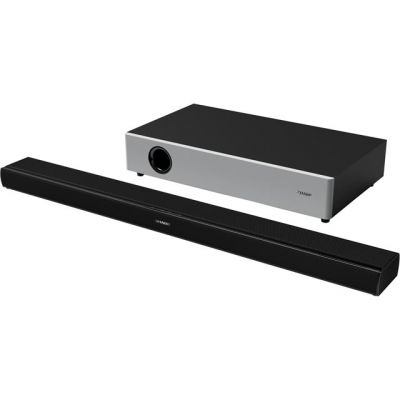 Sharp HT-SBW160 Bluetooth Soundbar with Wireless Subwoofer - Black / Silver Best Price, Cheapest Prices