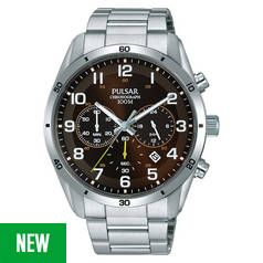Pulsar Chronograph Silver Bracelet Watch Best Price, Cheapest Prices