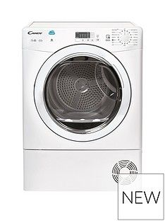 Candy CSVC8LG 8kgLoad Condenser Sensor Tumble Dryer with Smart Touch - White Best Price, Cheapest Prices