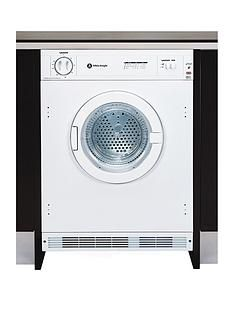 White Knight C4317 7kg Load Integrated Vented Tumble Dryer - White Best Price, Cheapest Prices