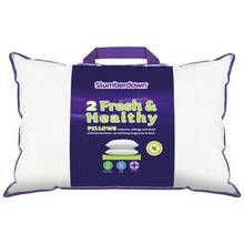 Slumberdown Fresh and Healthy Pair of Pillows Best Price, Cheapest Prices