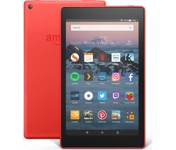 AMAZON Fire HD 8 Tablet (2018) - 16 GB, Red Best Price, Cheapest Prices