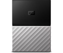 WD My Passport Ultra Portable Hard Drive - 2 TB, Black & Grey Best Price, Cheapest Prices