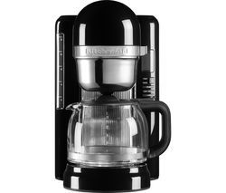KITCHENAID 5KCM1204BOB Filter Coffee Machine - Onyx Black Best Price, Cheapest Prices