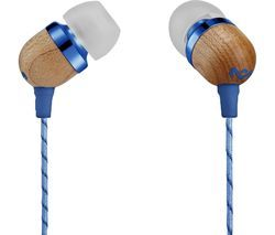 HOUSE OF MARLEY Smile Jamaica Headphones - Denim Best Price, Cheapest Prices